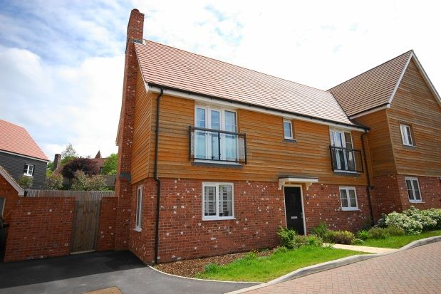 Thumbnail Semi-detached house to rent in Mead Lane, Buxted, Uckfield