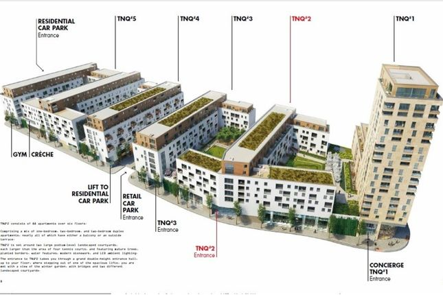 Thumbnail Flat for sale in 2B The Northern Quarter (Tnq2), Capitol Way, Colindale