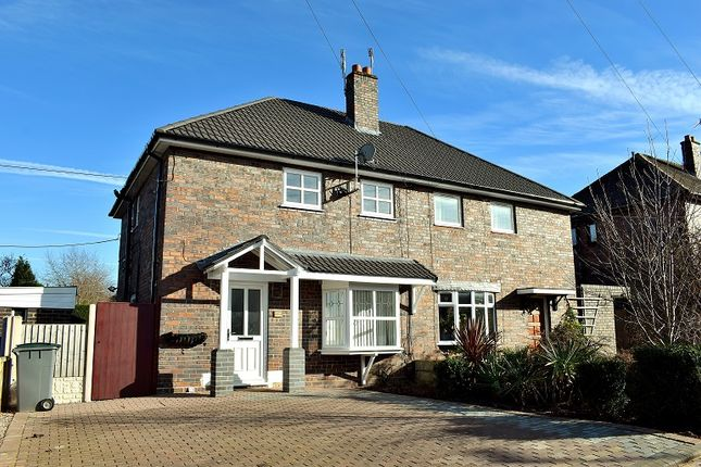 Thumbnail Semi-detached house for sale in Lionel Grove, Harpfields, Stoke On Trent.