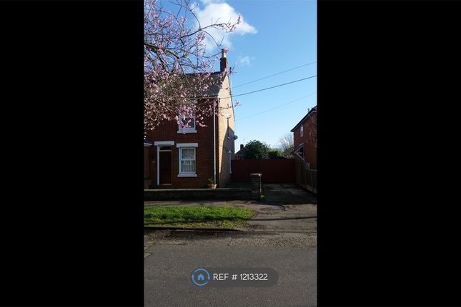 Thumbnail Semi-detached house to rent in Stanley Road, Wivenhoe, Colchester