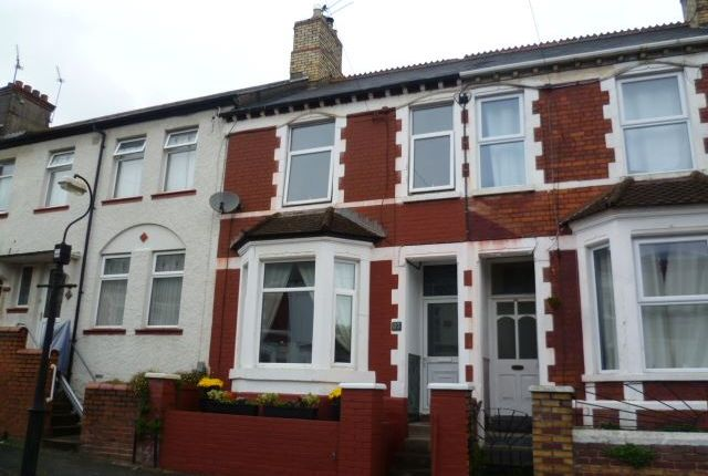 4 bed terraced house for sale in Andrew Road, Penarth
