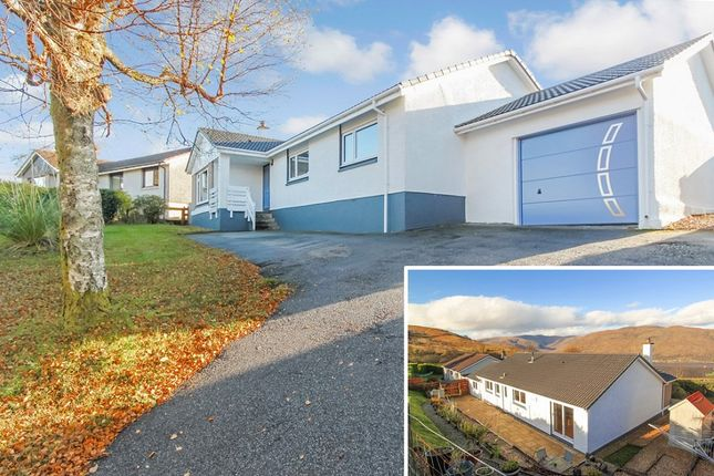 Thumbnail Detached bungalow for sale in Galloway Place, Fort William