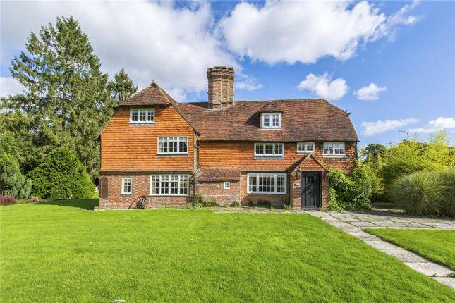 Thumbnail Detached house for sale in Hophurst Place, Hophurst Lane, Crawley Down, West Sussex
