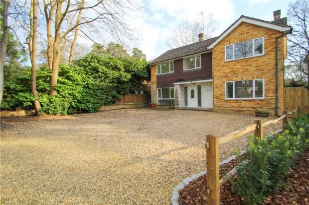 Thumbnail Detached house for sale in Prior Road, Camberley
