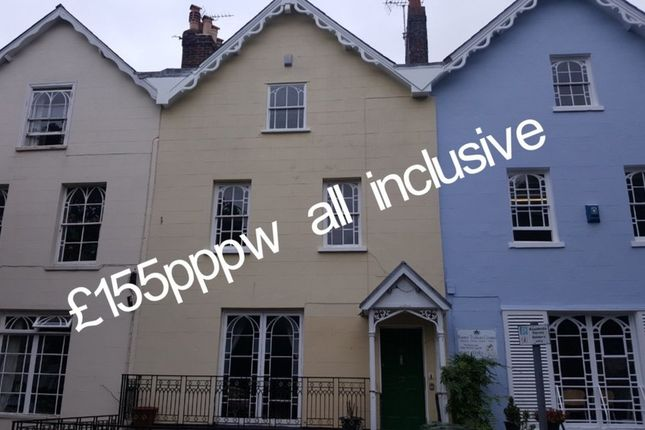 Thumbnail Link-detached house to rent in Queens Terrace, Exeter