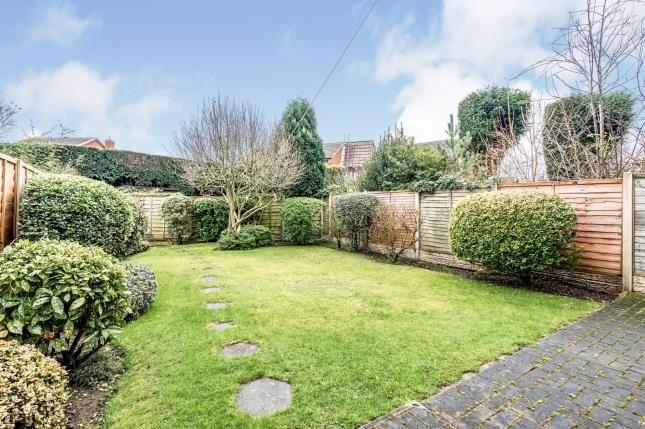 Garden of Thornes Croft, Off Main Street, Stonnall, Near Lichfield WS9