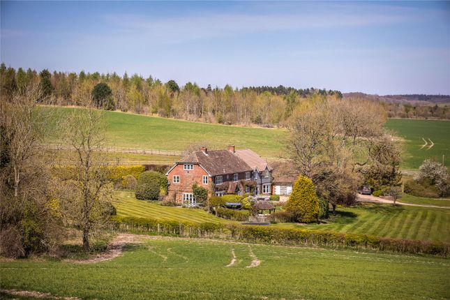 5 bed detached house for sale in Middlecot, Quarley, Andover SP11