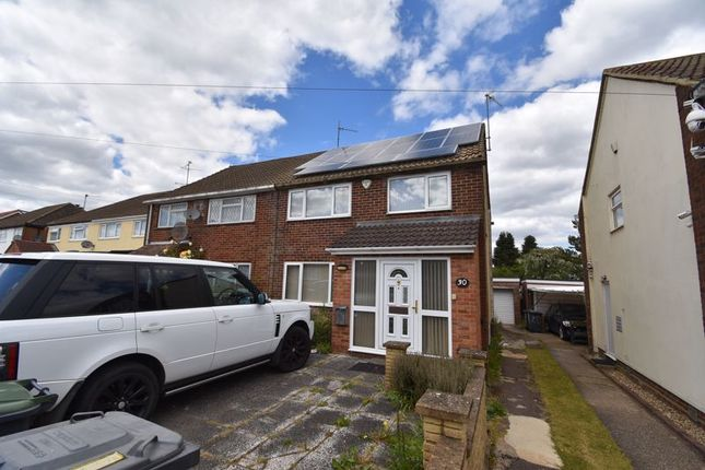 Thumbnail Semi-detached house to rent in Charlwood Road, Luton