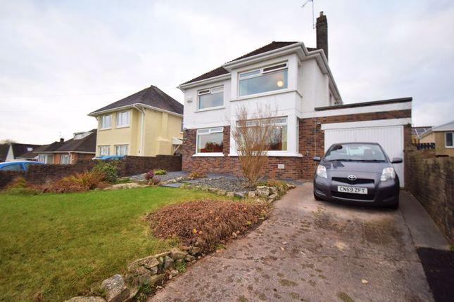 Thumbnail Detached house for sale in West Road, Bridgend