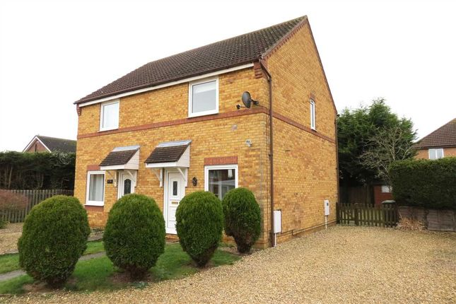 Thumbnail Semi-detached house to rent in Truro Close, Sleaford