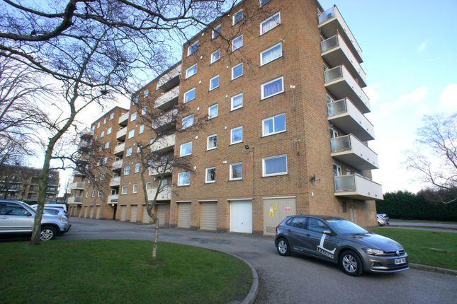Thumbnail 1 bed flat to rent in Kedleston Court, Norbury Close