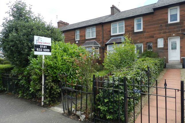 Thumbnail Terraced house to rent in Fenwick Road, Giffnock, Glasgow