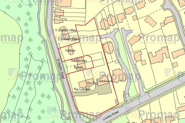 Thumbnail Property for sale in St. Marks Road, Binfield