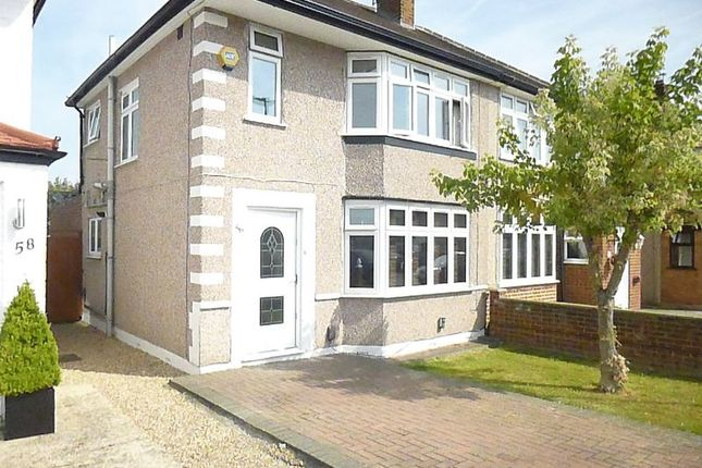 Thumbnail Semi-detached house to rent in West Road, Bedfont, Feltham
