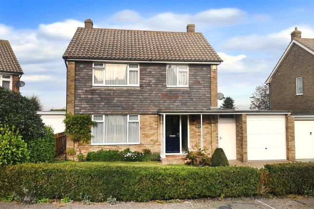 Thumbnail Detached house for sale in Gloucester Close, Willingdon, Eastbourne