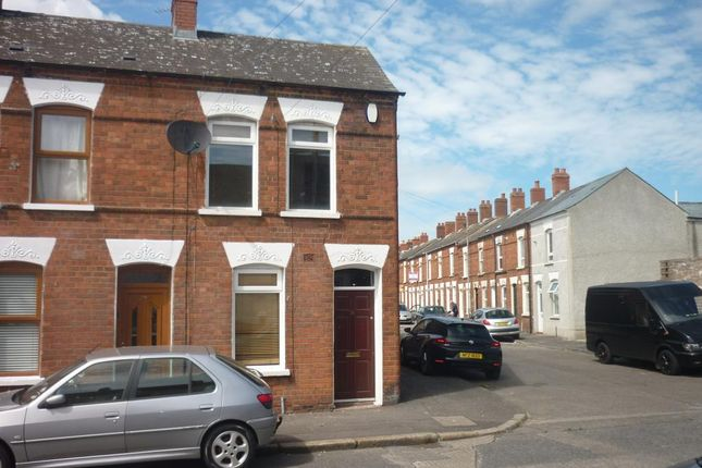 Thumbnail End terrace house to rent in Channing Street, Belfast