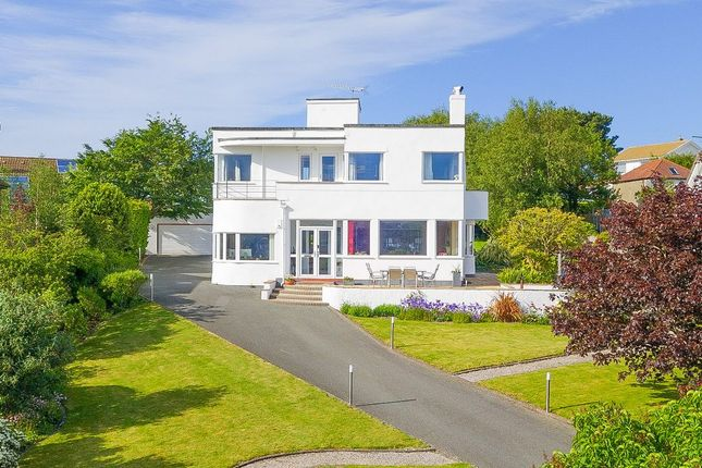 Thumbnail Detached house for sale in Overlea Crescent, Deganwy