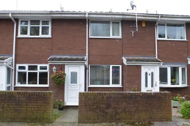 Thumbnail Terraced house to rent in Paddock Rise, Beechwood, Runcorn