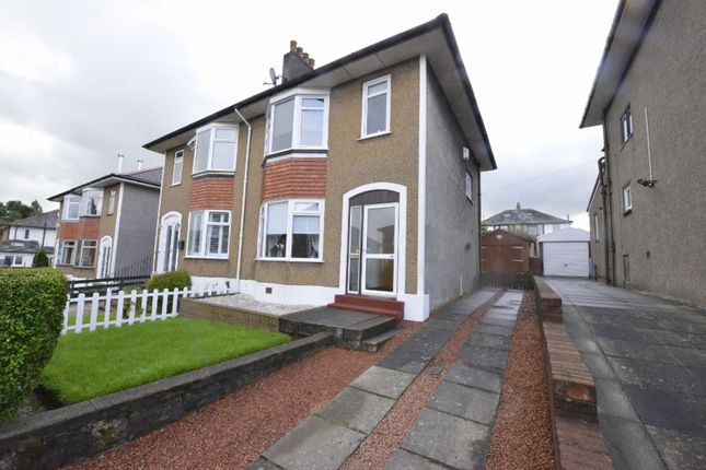 Front of Queensberry Avenue, Glasgow G76