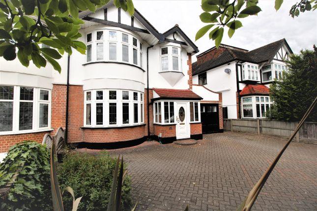 Thumbnail Semi-detached house for sale in Main Road, Gidea Park, Romford