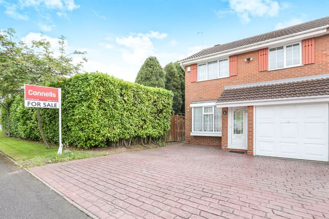 Thumbnail Semi-detached house for sale in Abbeyfield Road, Moseley Parklands, Wolverhampton