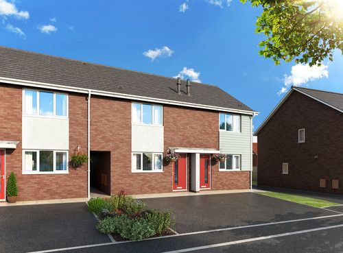 Thumbnail Town house to rent in Shetland Close, Shirebrook