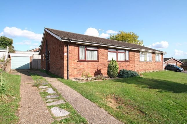 Thumbnail Semi-detached bungalow for sale in Sleigh Road, Sturry, Canterbury