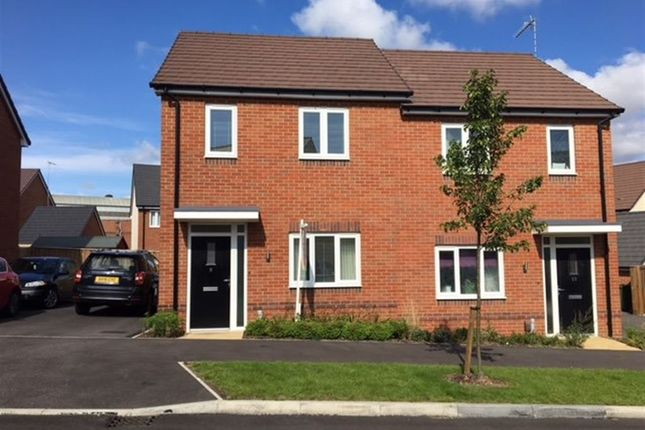 Thumbnail Semi-detached house to rent in Bell Road, Rugby, Warwickshire