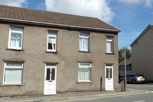 Thumbnail Flat to rent in High Street, Pentwynmawr, Newbridge, Newport