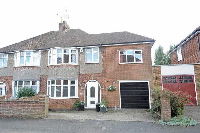 Thumbnail Semi-detached house for sale in First Avenue, Wellingborough