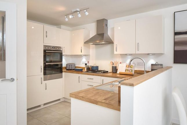 """Thumbnail 3 bed semi-detached house for sale in """"Greenwood"""" at Dryleaze, Yate, Bristol"""