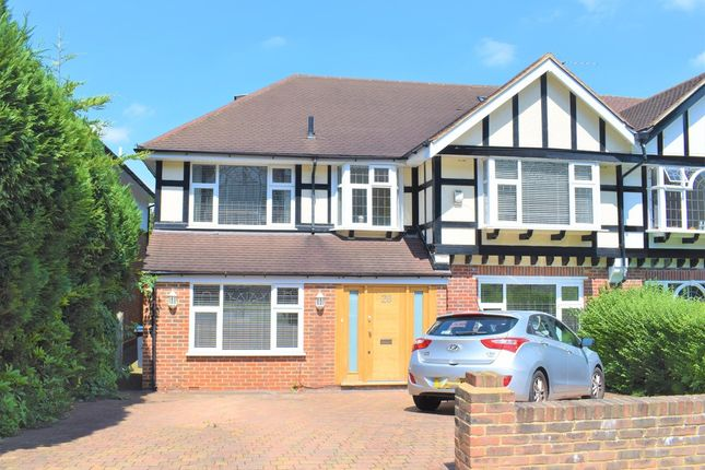 Thumbnail Semi-detached house to rent in Ullswater Crescent, Kingston Vale, London