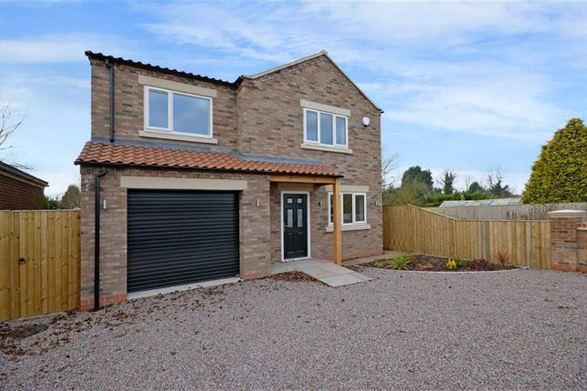 Thumbnail Detached house for sale in Back Lane, Hemingbrough, Selby