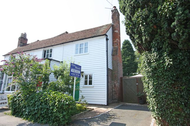 Thumbnail Semi-detached house for sale in Queen Street, Sandhurst, Cranbrook