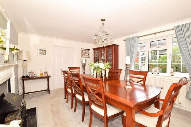 Dining Room of The Waldens, Kingswood, Maidstone, Kent ME17