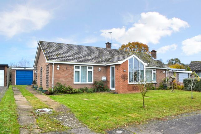 Thumbnail Detached bungalow for sale in St Pauls Close, Brockdish, Diss