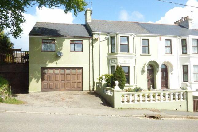 Thumbnail End terrace house for sale in Heath Terrace, Drakewalls, Gunnislake