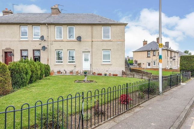 Thumbnail Flat for sale in Birkenside, Gorebridge, Midlothian