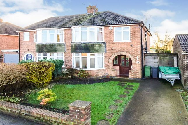 Thumbnail Semi-detached house for sale in Brockfield Park Drive, York