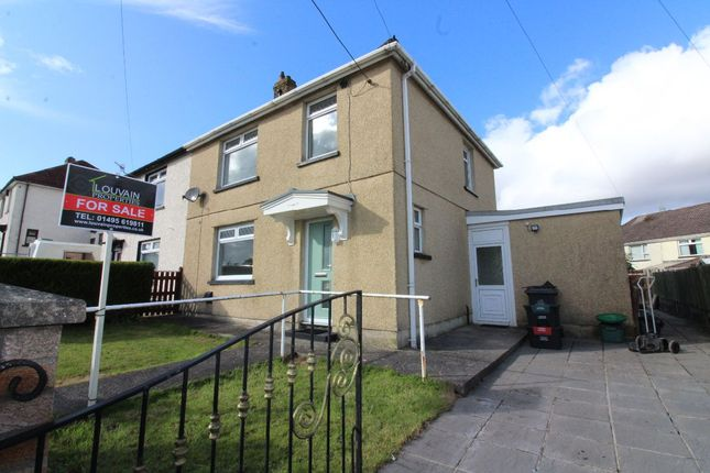 Thumbnail Semi-detached house for sale in Tynewydd, Nantybwch, Tredegar