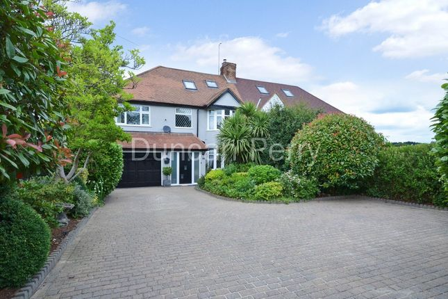 Thumbnail Semi-detached house for sale in Swanley Bar Lane, Little Heath, Herts