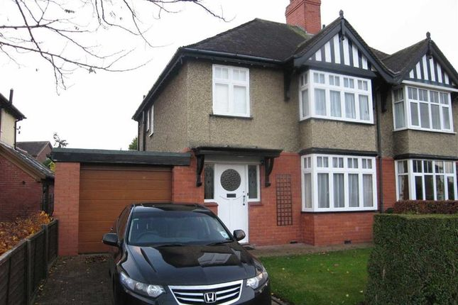 Thumbnail Semi-detached house to rent in Woodfield Road, Shrewsbury
