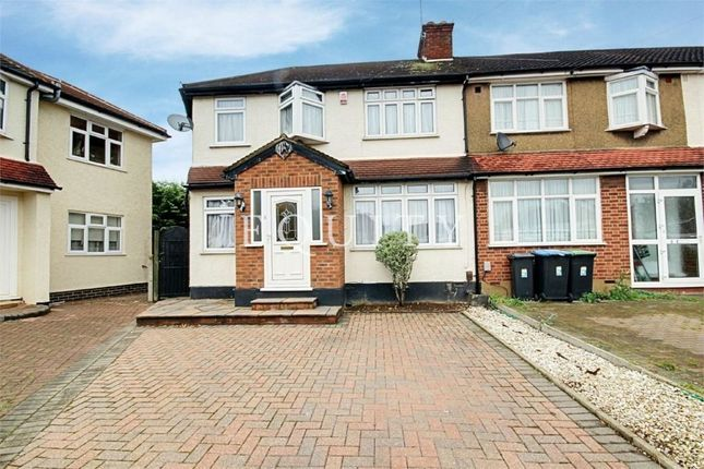 Thumbnail End terrace house for sale in Addis Close, Enfield