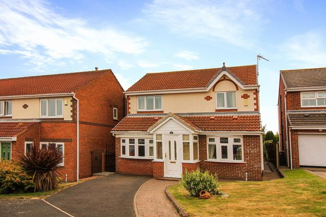Thumbnail Detached house for sale in Monks Wood, North Shields