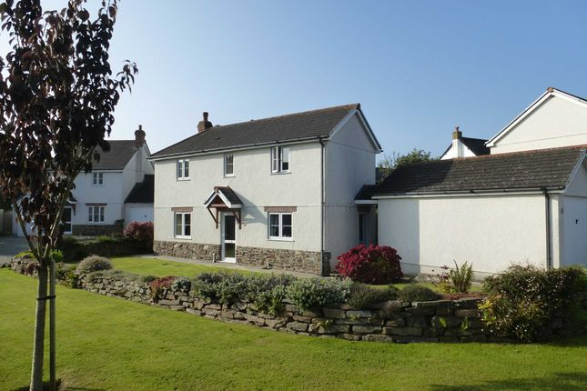 Thumbnail Detached house to rent in Old Orchard Close, Marhamchurch, Bude
