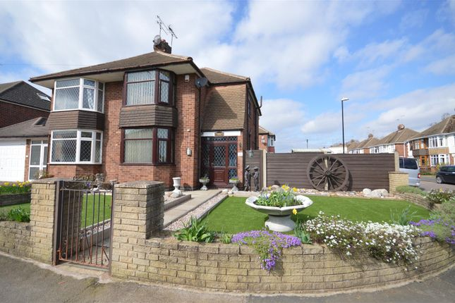 Thumbnail Semi-detached house for sale in Dawlish Drive, Styvechale, Coventry