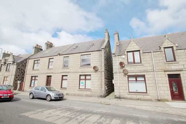 Thumbnail Flat for sale in 62, College Bounds Attic Flat, Fraserburgh Aberdeenshire AB439Qs