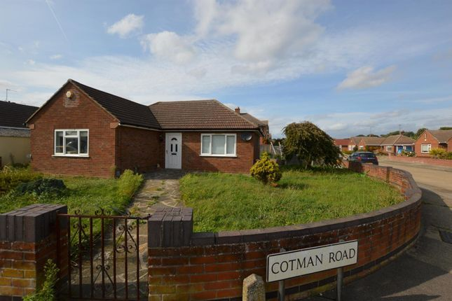 Thumbnail Detached bungalow for sale in Cotman Road, Colchester
