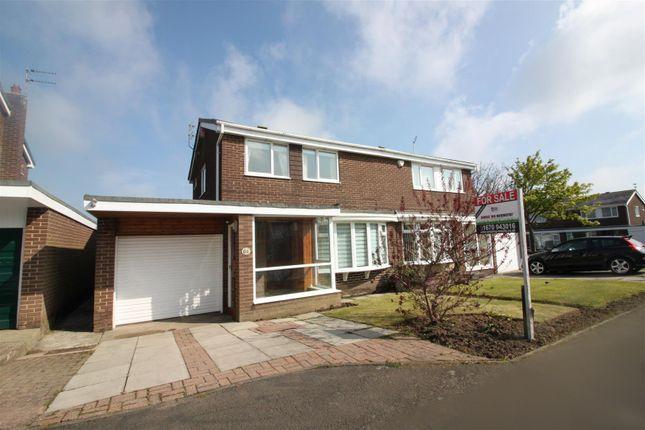 Thumbnail Semi-detached house for sale in Hazel Grove, Ellington, Morpeth