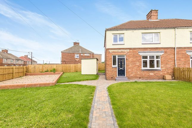 Thumbnail Semi-detached house for sale in Coleridge Road, Chilton, Ferryhill